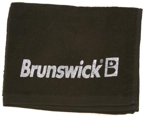 Brunswick Baumwolle Solid Handtuch, unisex, schwarz