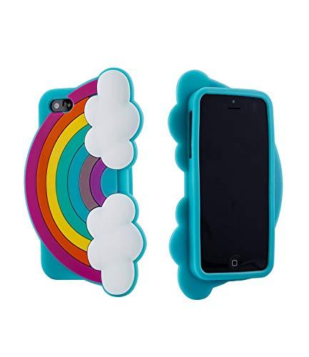 SIX Starke Design-Hülle mit Regenbogen-Motiv für das iPhone 5 (483-076)
