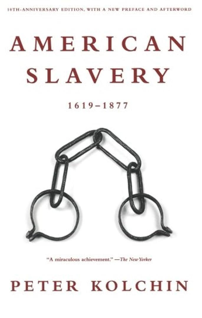 気取らない建設制裁American Slavery 1619-1877