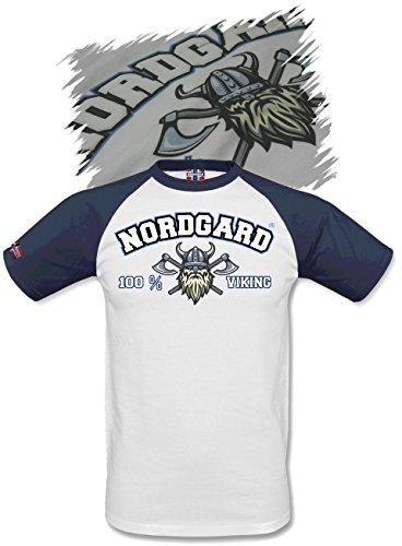 NORDGARD Shirt 100% Viking Wikinger Shirt für Damen und Herren des Modelabels (XXL)
