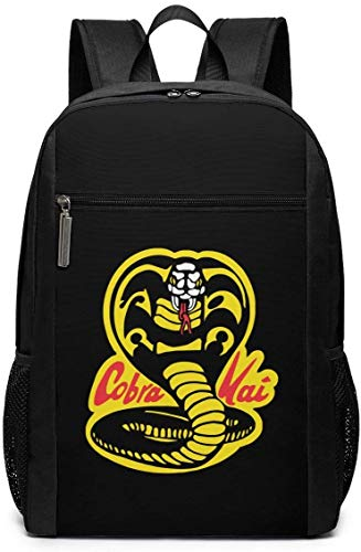 Mochila Mochila de Viaje Cobra Kai Backpack Laptop Backpack School Bag Travel Backpack 17 Inch