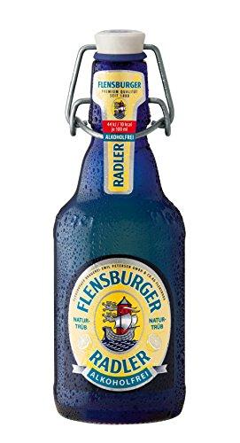 Flensburger Radler alkoholfrei - 24x0,33l