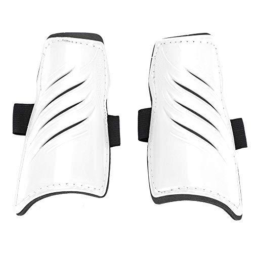 5 Farben 1 Paar Fußball Schienbeinschoner Kinder Fußball Beine Protector(Weiß)