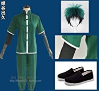 僕のヒーローアカデミア 緑谷出久 コスプレ衣装+ウイッグ+ 靴