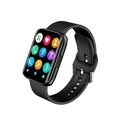 XXY Smart Watch Dial Respuesta Call Bluetooth MP3 Music Player 1.78 Pulgadas Pantalla Táctil Completa Hombres Deporte SmartWatch Vs P8 LS02 (Color : Black)