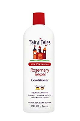 Fairy Tales Rosemary Repel Daily Kid Conditioner for Lice Prevention, 32 Fl Oz (Pack of 1)