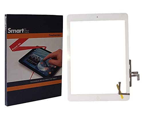 Smartex® Scherm compatibel met iPad Air 1, Wit/Display Touch screen Digitizer