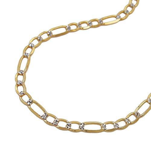 Armband 510003 - Figaro ketting 14ct goud 19cm