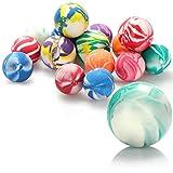 com-four® 16x Bolas saltarinas para Jugar con los niños - Bolas...