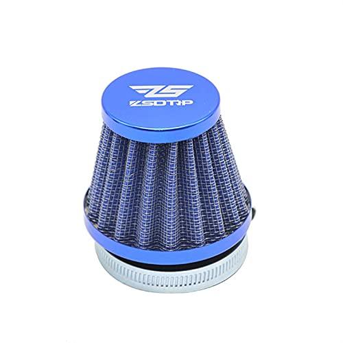 ZLQQD El Filtro de Aire de la Abrazadera de carburador de la Motocicleta Universal de 50 mm, el Limpiador cónico de Entrada de 50 mm, para la mayoría de los Motores de 70 CC 90 CC 110CC