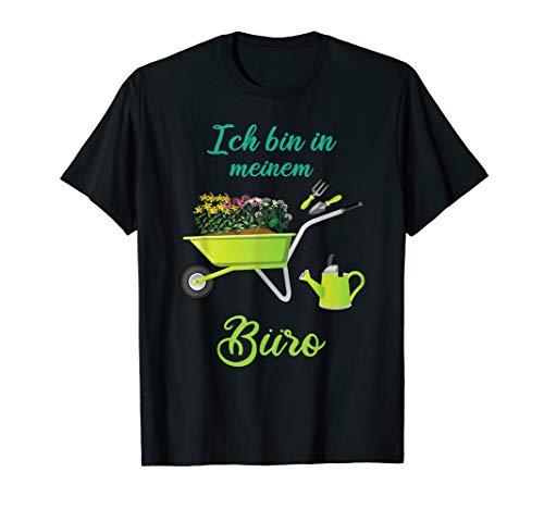 Lustiges Gärtner Garten T-Shirt - Gartenbüro Shirt T-Shirt