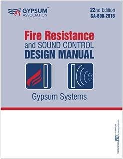 GA-600-2018 PLUS - Fire Resistance and Sound Control Design Manual