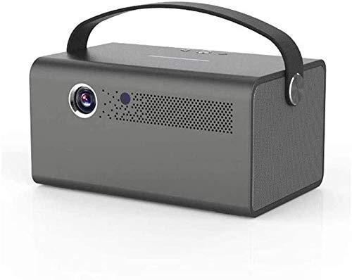 XUERUIGANG Mini proyector, proyector de películas portátiles 1080p y 170 '' Pantalla Compatible, con 40,000 hrs LED Lámpara Vida, Compatible con TV Stick, PS4, HDMI, VGA, TF, AV y USB (Negro)