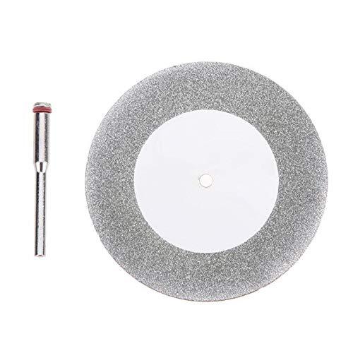 TCT Hoja Accesorios de mandril de disco de corte de diamante de 60 mm Mini hoja de sierra circular Sierra eléctrica for herramienta de corte giratoria de acero for taladro Hoja de Sierra Circular