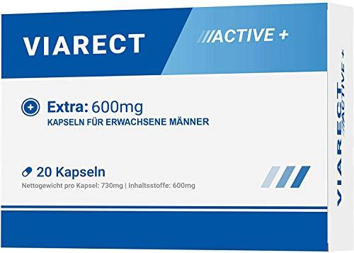 VIARECT - Für erwachsene Männer | 20 Kapseln | Made in Germany
