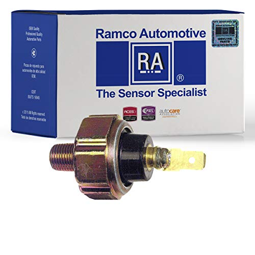 Ramco Automotive, Engine Oil Pressure Switch, Compatible with Wells PS123, Standard Motor Products PS160 (RA-OPS1027)
