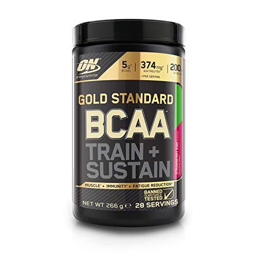 Optimum Nutrition Gold Standard BCAA, Acides Aminés en Poudre, Complément Alimentaire avec Vitamine C, Zinc,...