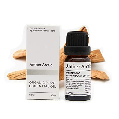 Huile essentielle de bois de santal - 100% pure huile essentielle de qualité thérapeutique, huile d'aromathérapie naturelle pour diffuseur (10ML)