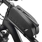 VOANZO Bike Frame Bag Impermeable Bike Top Tube Bag Triángulo Bolsa de Bicicleta de Gran Capacidad Accesorios de Ciclismo Profesionales (Tamaño S)