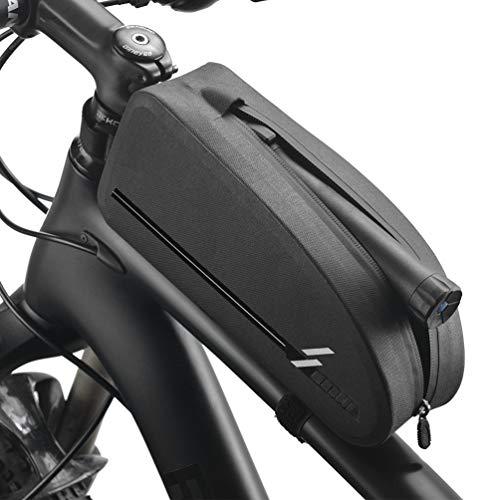 VOANZO Bike Frame Bag Impermeable Bike Top Tube Bag Triángulo Bolsa de Bicicleta de Gran Capacidad Accesorios de Ciclismo Profesionales (Tamaño M)