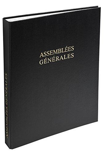 Le Dauphin 831D Ordner Einband Rechtliche Versammlungen Allgemeine 29,7/x 21/x 3,7/cm schwarz