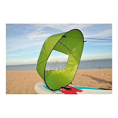Tabla de surf hinchable para Fácil viento Vela Driven bolsa de energía for el tablero Stand Up Paddle Board de la resaca de la canoa del kajak barco inflable plegable tabla de surf electrica comun