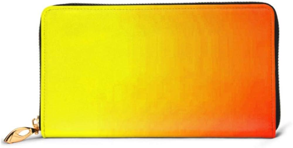 Fashion Handbag Zipper Wallet Light Yellow Vector Abstract Backdrop New Phone Clutch Purse Evening Clutch Blocking Leather Wallet Multi Card Organi