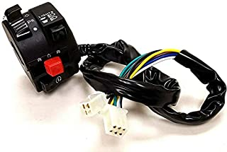 8Z 6+3 PINS ATV QUAD SCOOTER MOPED GY6 IGNITION KILL SWITCH LIGHT LEFT KS53