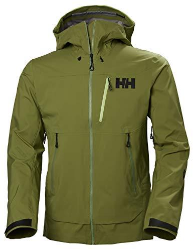 Helly-Hansen Men's Odin Mountain 3L Shell Jacket, 407 Wood Green, X-Large