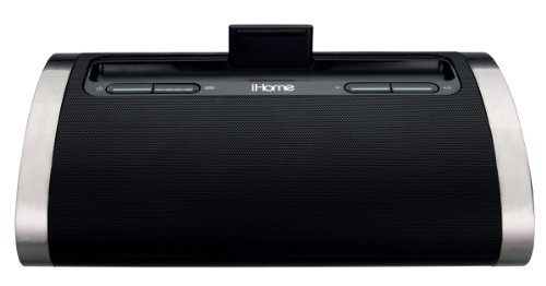 iHome ID48BVC Negro Acoplamiento Altavoz - Altavoces (iPad,iPhone,iPod, Negro, 259,1 mm, 154,9...