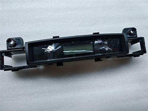 PIAO piaopiao Fit für Hyundai Accent 2009 2009 2010 2011 Digitaluhr, elektronische Uhr, Doppelblitzschalter, Heizschalterbaugruppe (Color Name : Orange)