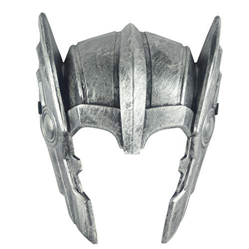 QWEASZER Thor: Ragnarök Halloween Thor Casco Cosplay Disfra