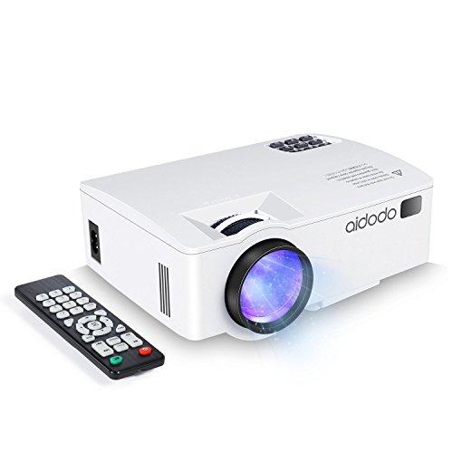 Vidéoprojecteur, TOQIBO HD 1080P 1500 Lumens LED Mini LCD Projecteur...