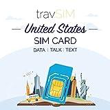 travSIM – AT&T EE.UU. Tarjeta SIM 15 Días - 22GB 3G 4G LTE Datos Móviles con Llamadas y Textos Ilimitados - Tarjeta SIM AT&T EE.UU. Estados Unidos (También Funciona en Canadá y México)