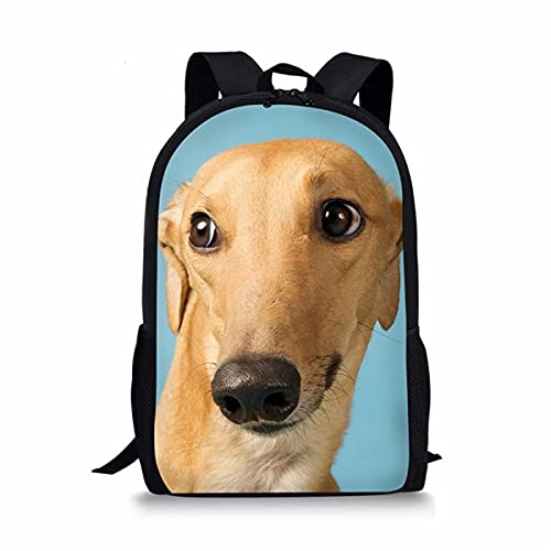 ZHANGWENJIE Customzied Cute Print Animal Dog Bookbag kawaii Jeans Cat School Bags per adolescenti Ragazzi Ragazze Cool Kids Zaini 44 * 28 * 13 cm 8