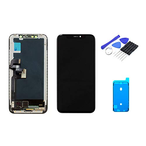 kaputt.de display (5,8 inch) voor iPhone X | OLED-scherm incl. DIY reparatieset