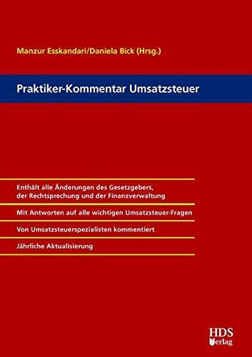 HDS-Kommentar Umsatzsteuer