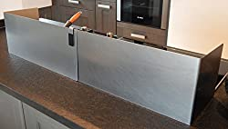 Mobiler Küchenspritzschutz, Variante 2