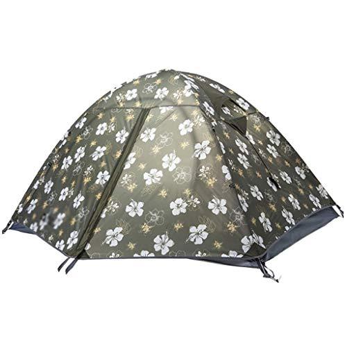 SSG Home Utilisation Multiple Sports de Plein air Tente Camping Pluie en Plein air Épaississement crème Solaire en Aluminium pôle intérieur Tente Pliante Coupe-Vent Respirant Équipement d'extérieur