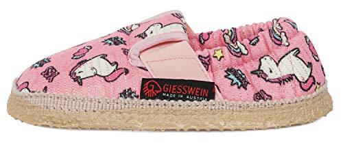 Giesswein Altenburg, Zapatillas de Estar por casa Niños, Rosa Azalea 310, 25 EU