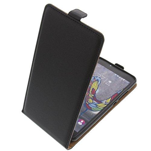Tasche für Wiko U Feel Fab Smartphone Flipstyle Schutz Hülle schwarz