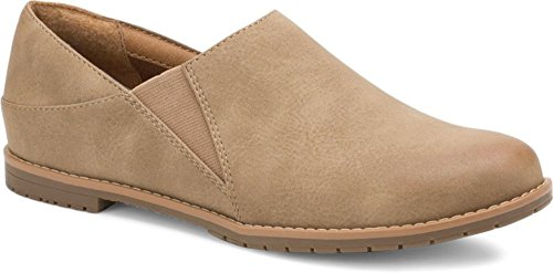 Eurosoft Women's Everett Taupe Nubuck Syntheticloafers-Shoes 8.5 B(M) US