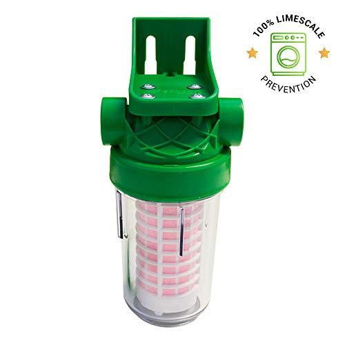 Wasserenthärter Filter für Waschmaschine und Geschirrspüler Ecozon 200, 100% Kalkschutz