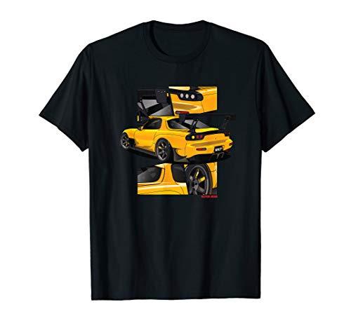 RX7 FD 13B Turbo Manga Style Rotary T-Shirt