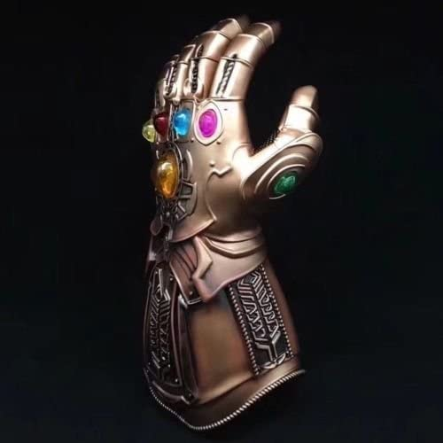 B-Creative Thanos Infinity Gauntlet Legends Gants The Avengers Figure Cosplay Main Prop (Non LED Style 1)