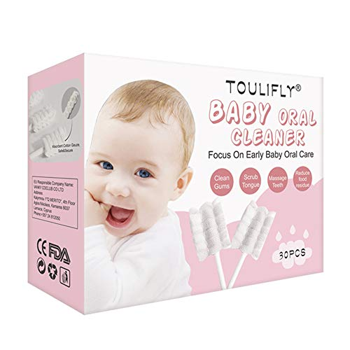 Baby ToothbrushBaby Tongue CleanerInfant ToothbrushBaby Tongue Cleaner NewbornToothbrush Tongue Cleaner Dental Care for 036 Month Baby30 Pcs