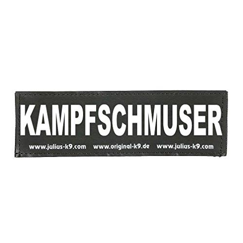 Julius K9 8151082 2 Klettsticker S. Kampfschmuser