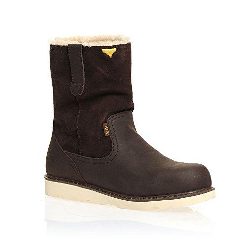 Dude Shoes Men's Vigo Easy Life Brown Leather Work Boot UK8 / EU42