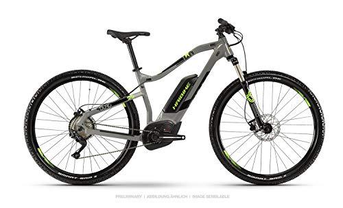 HAIBIKE Sduro HardNine 4.0 29'' Pedelec E-Bike MTB grau/schwarz/grün 2019: Größe: XL
