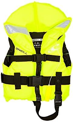 O'NEILL Child Superlite 100N ISO Vest Top Neon Yellow - Lightweight - Unisex